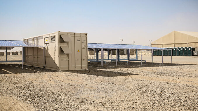 Faber Infrastructure Solarcontainer Camp